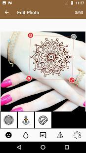Mehndi Design Photo Editor - náhled