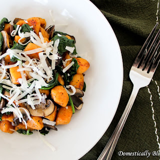 Fried Sweet Potato Gnocchi
