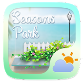 Seasons Park GO Weather Widget