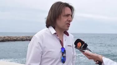 El coordinador provincial de Ciudadanos, Rafael Burgos.