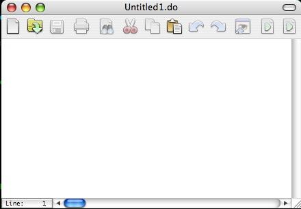 Blank do file