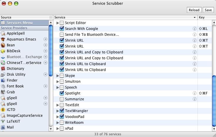 ServiceScrubber