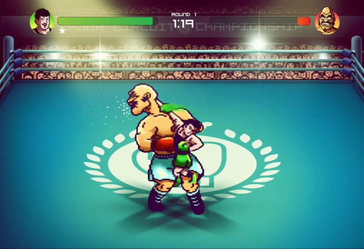 Punch-Out!! - wersja Andrésa Moncayo