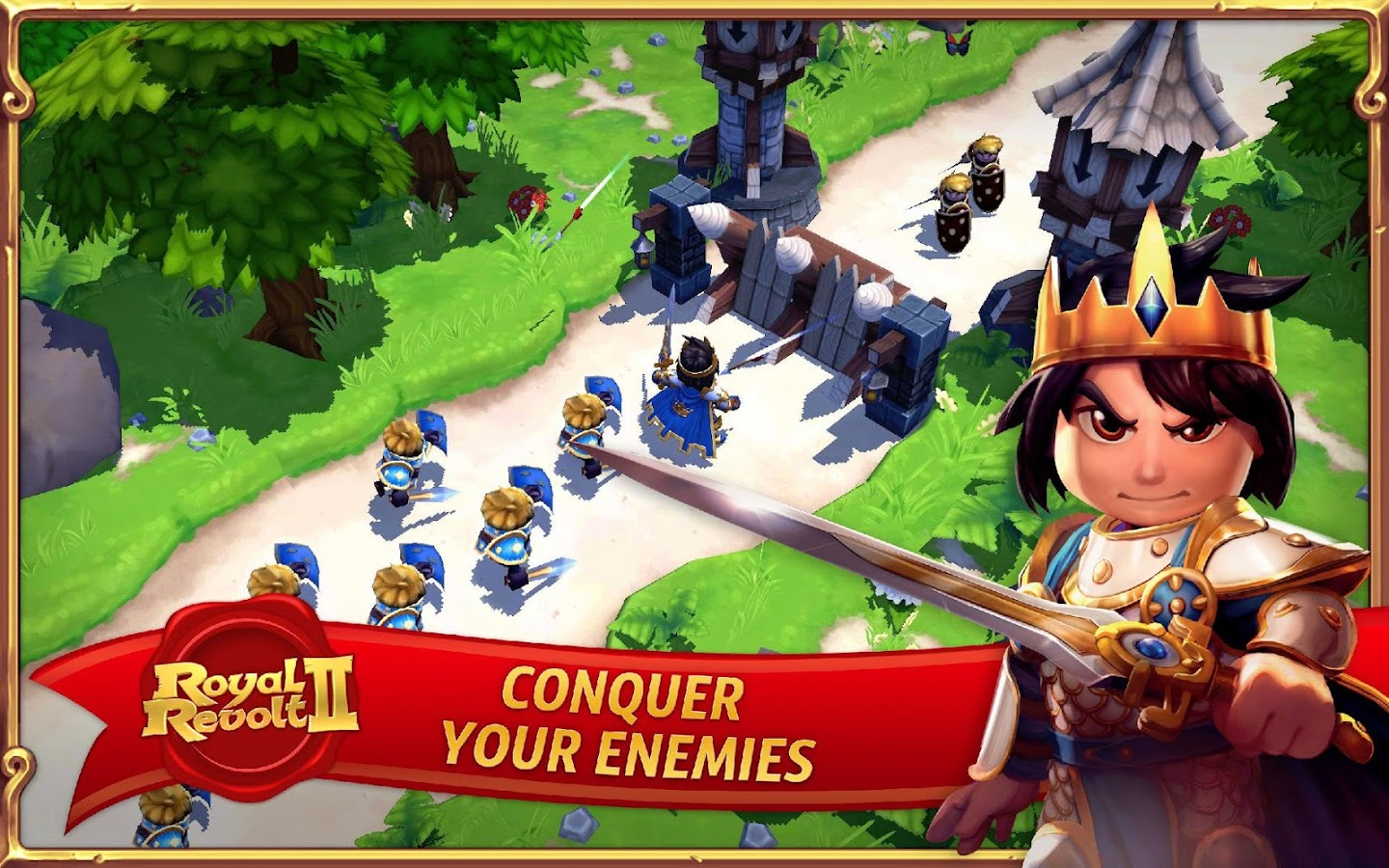 Royal Revolt 2 - screenshot
