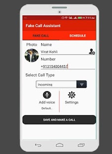 Fake Call Assistant - náhled