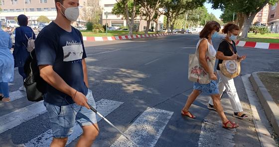 Más semáforos sonorizados para avanzar hacia una ciudad inclusiva