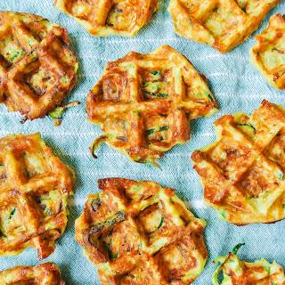 Quinoa + Zucchini Pizza Fritters.