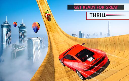 Télécharger Gratuit Mega Car Top Speed: Courses sur piste mod apk screenshots 3