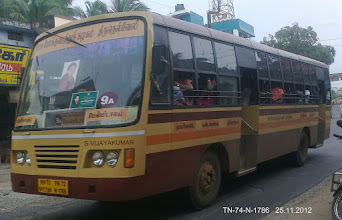 Photo: TN 72 N 1786 ROUTE NO-9A MELMIDALAM FRONT WITH LEFT VIEW