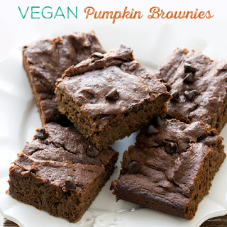 Pumpkin Brownies.