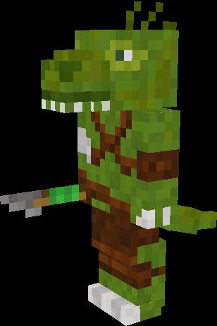 Lizard Aborigine Player Nova Skin