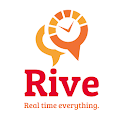 Rive - real time life anywhere icon