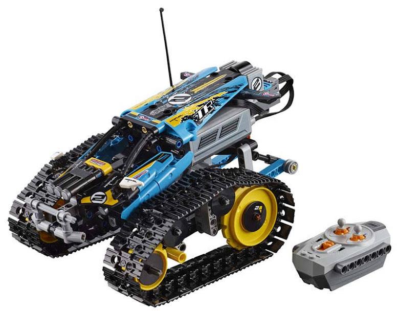 Contenido de Lego® 42095 Vehículo Acrobático a Control Remoto