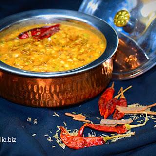 Panchratani Daal, Five-Lentils Medley
