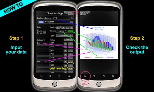 3d charts pro screenshot 2