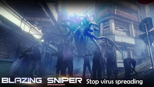 Blazing Sniper - offline shooting game 1.7.0 screenshots 7