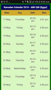 Download Ramazan Calendar 2018 Egypt For PC Windows and Mac apk screenshot 6