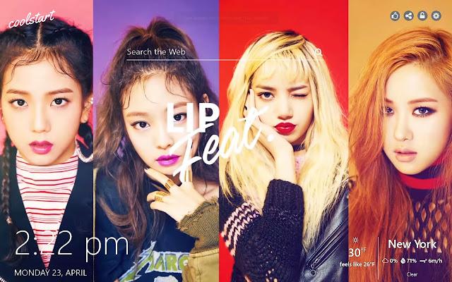 Black Pink Hd Wallpapers K Pop Music Theme