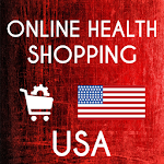 Online Health Shopping USA Icon