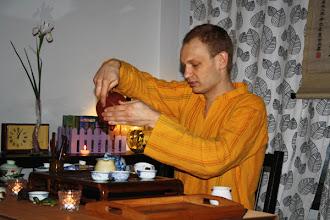 """Photo: Выездная церемония Чайного Клуба в кафе """"Циферблат"""", Киев, весна 2013.  Заказ чайной церемонии по тел. +38044 451 4283, киевский Чайный Клуб.  Подробности на сайте: http://www.cha.com.ua/uznai-bolshe/o-klube/karta-uslug/visiting-tea-ceremony"""