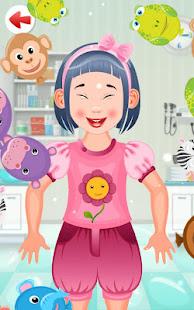 Kids Doctor Game - free app poster