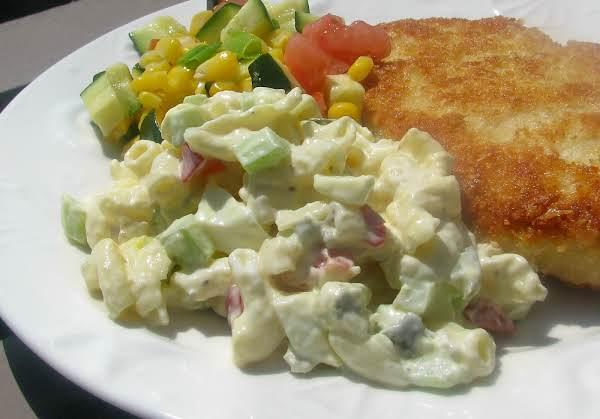 Sweet Amish Macaroni Salad Recipe