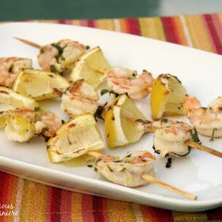 Australian Style Grilled Shrimp.