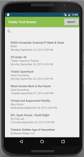 Toledo Tech Events- screenshot thumbnail