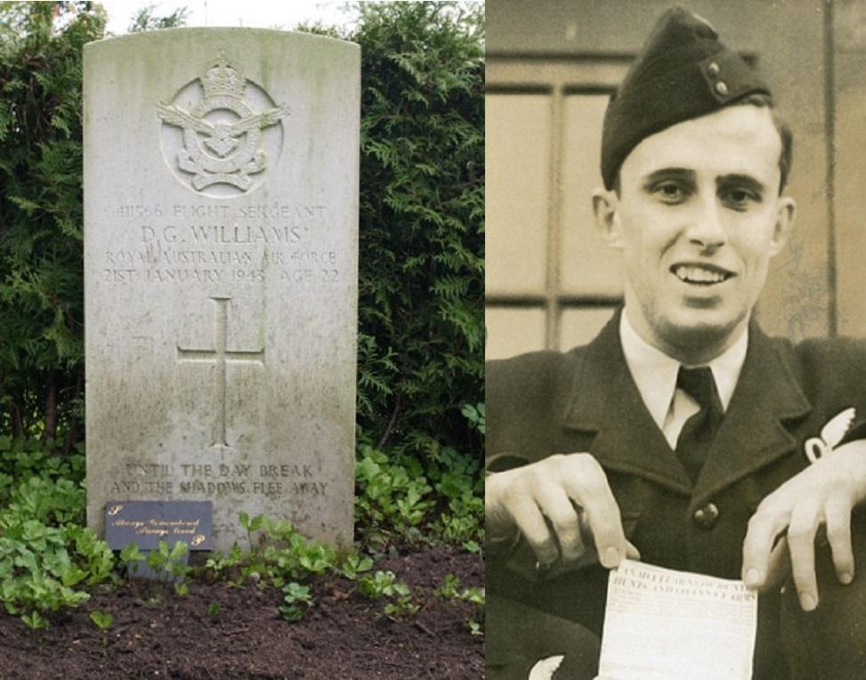 Flight Sergeant D.G. (Douglas George) Williams - bron:secondworldwar.nl