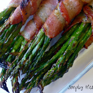 Oven Roasted Asparagus And Bacon