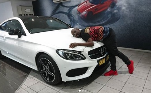 Musa mthombeni blesses himself with fancy mercedes benz for Mercedes benz biography