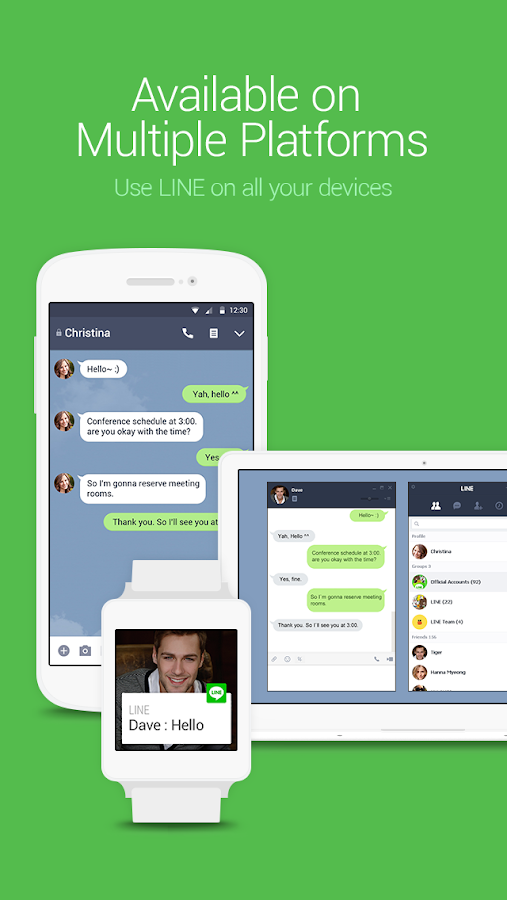 Screenshots of LINE: Free Calls & Messages for iPhone