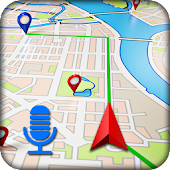 Voice Navigation For places, Routes And GPS Maps