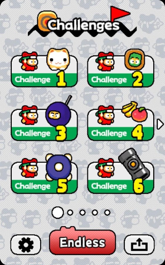 Ninja Spinki Challenges!!- screenshot