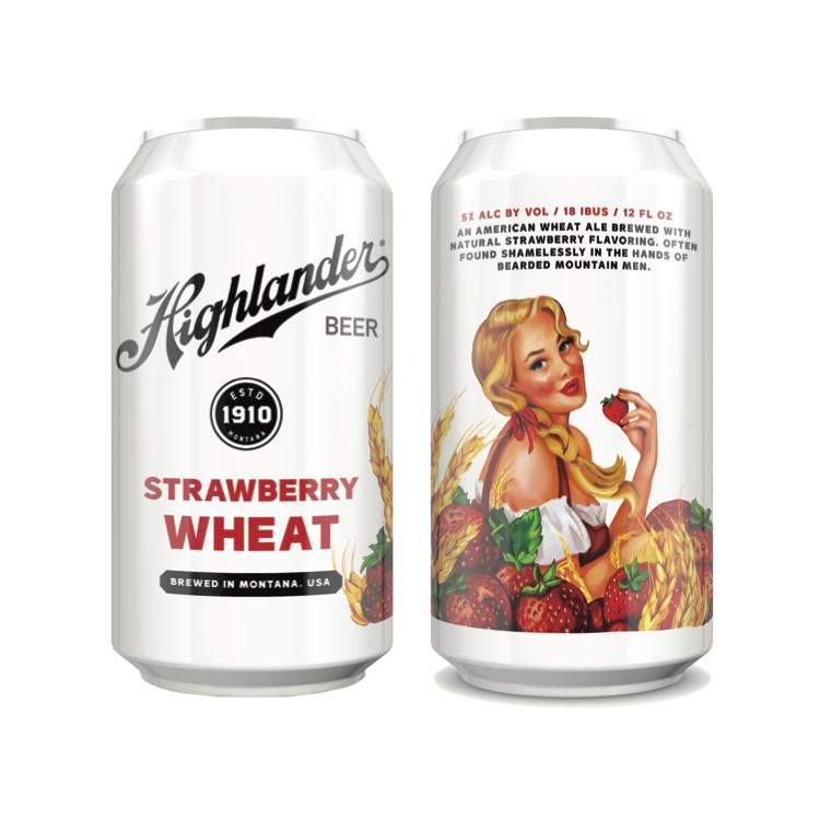 Logo of Highlander Strawberry Wheat