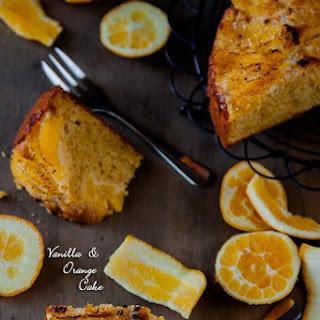 Vanilla & Orange Cake Recipe