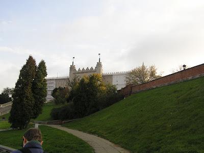 Lubliner Burg, um sie befand sich bis zur Shoah der jüdische Stadtteil