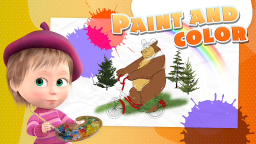 Masha and the Bear - Game zone 2.4 screenshots 4