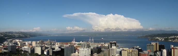 Photo: Thunderstorm over Wairarapa