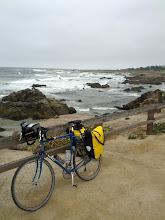 Photo: My trusty bike on the 17 mile drive