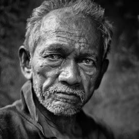 tea stall owner of kolkata by  Bivahasutra Wedding Photography - People Portraits of Men ( kolkatastreet, indianstreet, kolkata, india, senior citizen, indianpeople )