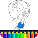 Coloring Book for Brawl bs Stars Color Pages 🌵 icon