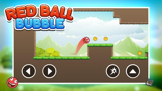 Bubble Red Ball Adventure - Jump Ball 2018 - náhled