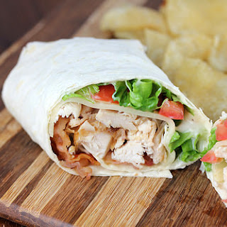 Rotisserie Chicken Club Wrap.