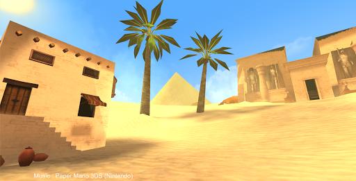 Egypt Sahara Pyramids Game