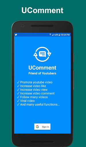 UComment - Get Free View Like Comment For Youtube App Report