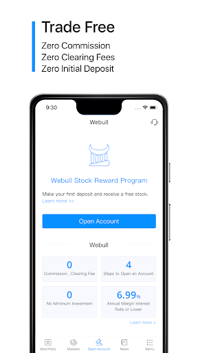 Webull: Invest Smart, Trade Free - Stocks, ETFs. 4.15.1.01 app download 1