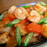 Shrimp and Fish Sizzler