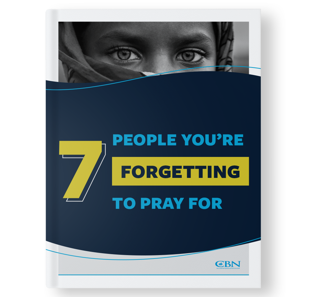"The cover of the free PDF download entitled ""7 People You're Forgetting to Pray For"""