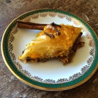 Baklava With Honey And Orange